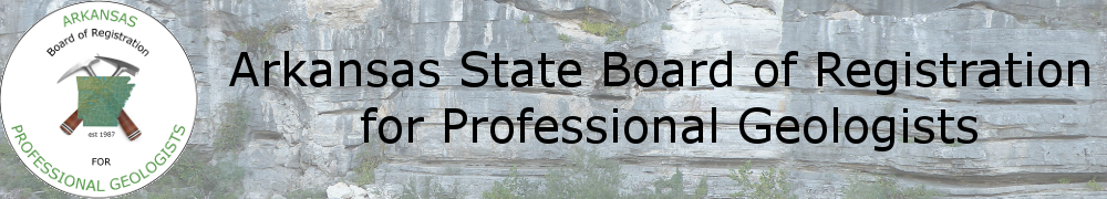 Arkansas State Board of Registration for Professional Geologists